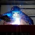 Trabajador en industria metalúrgica