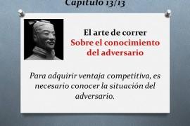 El arte de correr – Sobre el conocimiento del adversario (13/13)